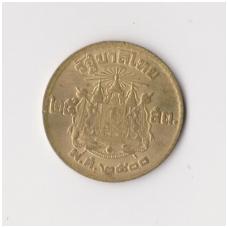 TAILANDAS 25 SATANG 1957 Y # 80 XF