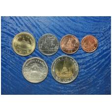 Tailandas 6 monetų rinkinukas