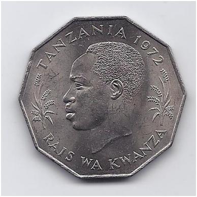 TANZANIJA 5 SHILLINGS 1972 KM # 6 UNC FAO 2