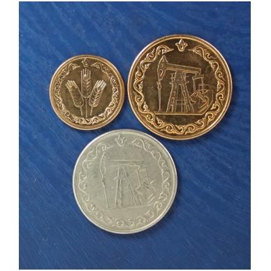 Tatarstanas 1993 m. pilnas 3 monetų rinkinys ( 20 litrų iš apyvartos ) 2