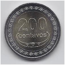 RYTŲ TIMORAS 200 CENTAVOS 2017 KM # new UNC