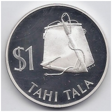 TOKELAU 1 TALA 1979 KM # 2a PROOF
