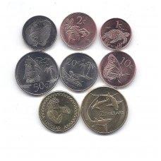 TOKELAU 2017 m. 8 monetų komplektas