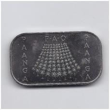 TONGA 1 PA'ANGA 1978 KM # 58 AU FAO