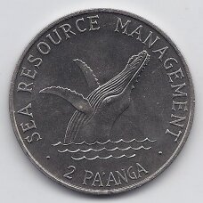 TONGA 2 PA'ANGA 1979 KM # 61 UNC FAO