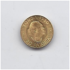 TONGA 20 PA'ANGA 1980 KM # 65 AU FAO