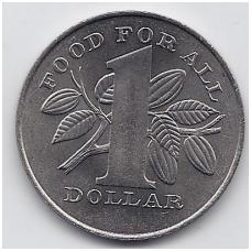 TRINIDADAS IR TOBAGAS 1 DOLLAR 1979 KM # 38 UNC FAO