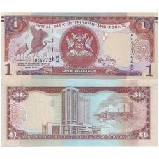 TRINIDADAS IR TOBAGAS 1 DOLLAR 2006 P # 46b AU