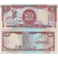 TRINIDADAS IR TOBAGAS 1 DOLLAR 2006 P # 46b UNC