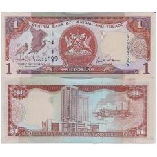 TRINIDADAS IR TOBAGAS 1 DOLLAR 2006 P # 46a UNC