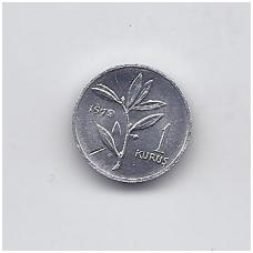 TURKIJA 1 KURUS 1979 KM # 924a AU FAO