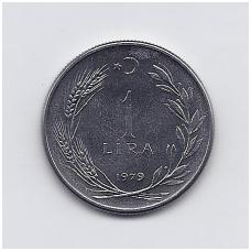 TURKIJA 1 LIRA 1979 KM # 926 UNC FAO