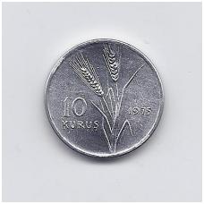 TURKIJA 10 KURUS 1975 KM # 898a UNC FAO