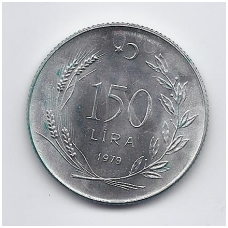 TURKIJA 150 LIRA 1979 KM # 929 UNC FAO