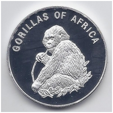UGANDA 1000 SHILLINGS 2002 KM # 102 PROOF