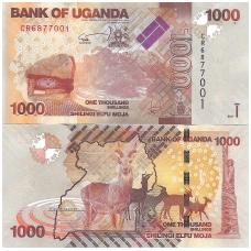 UGANDA 1000 SHILLINGS 2017 P # 49e UNC