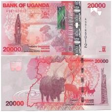 UGANDA 20000 SHILLINGS 2013 P # 53b UNC