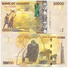 UGANDA 50000 SHILLINGS 2014 P # 54 UNC