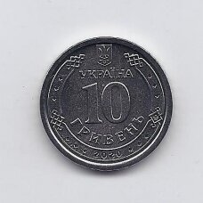 UKRAINA 10 HRYVEN 2020 KM # new UNC