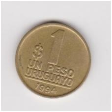 URUGVAJUS 1 PESO 1994 KM # 103.1 VF