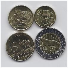 URUGVAJUS 2011 m. 4 monetų komplektas