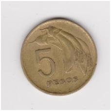 URUGVAJUS 5 PESOS 1968 KM # 50 VF