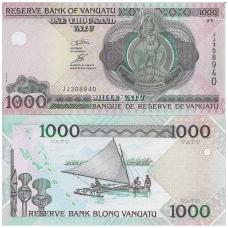 VANUATU 1000 VATU 2002 P # 10c UNC