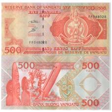 VANUATU 500 VATU 2011 P # 5 UNC