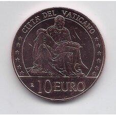 VATIKANAS 10 EURO 2021 KM # new AU