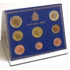 VATIKANAS 2002 m. monetų rinkinys