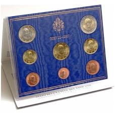 VATIKANAS 2007 m. pilnas euro rinkinys
