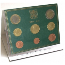 VATIKANAS 2010 m. monetų rinkinys