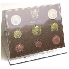 VATIKANAS 2011 m. monetų rinkinys