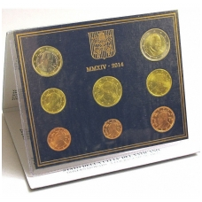 VATIKANAS 2014 m. monetų rinkinys