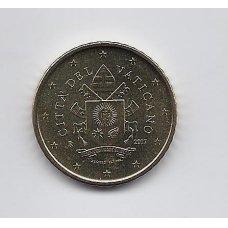 VATIKANAS 50 EURO CENTS 2017 KM # new UNC