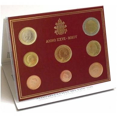 VATIKANAS 2004 m. monetų euro rinkinys