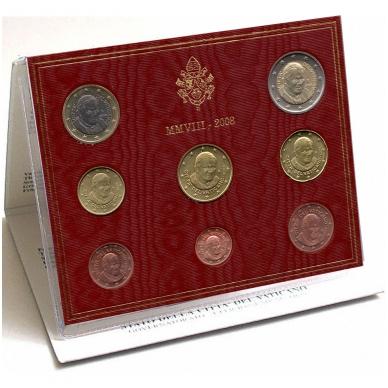 VATIKANAS 2008 m. monetų rinkinys