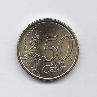 VATIKANAS 50 EURO CENTS 2019 KM # new UNC 2