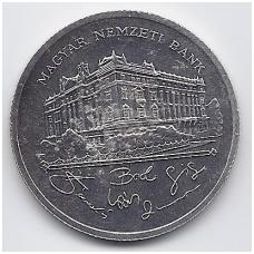 VENGRIJA 200 FORINT 1993 KM # 689 XF NACIONALINIS BANKAS