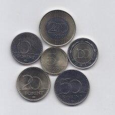 VENGRIJA 2019 - 2020 m. 6 monetų rinkinys