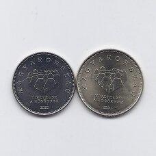 VENGRIJA 2020 m. dviejų monetų COVID-19 rinkinukas
