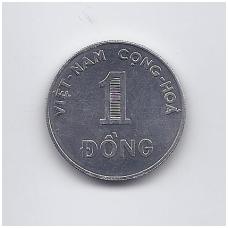 VIETNAMAS 1 DONG 1971 KM # 12 AU