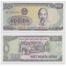 VIETNAMAS 1000 DONG 1988 P # 106 UNC