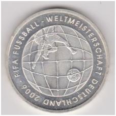 VOKIETIJA 10 EURO 2005 KM # 243 AU