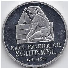 VOKIETIJA 10 EURO 2006 KM # 245 PROOF KARLAS F. ŠINKELIS
