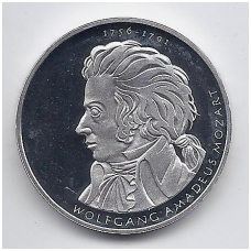 VOKIETIJA 10 EURO 2006 KM # 248 PROOF MOCARTAS