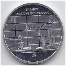 VOKIETIJA 10 EURO 2007 KM # 266 PROOF FEDERALINIS BANKAS