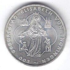 VOKIETIJA 10 EURO 2007 KM # 268 AU