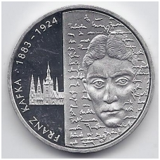 VOKIETIJA 10 EURO 2008 KM # 271 PROOF FRANZ KAFKA