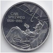 VOKIETIJA 10 EURO 2008 KM # 273 PROOF CARL SPITZWEG